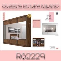 Título do anúncio: Guarda roupa Milano/ guarda roupa Milano-8383