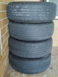 Vendo jogo de aro 15 com pneus