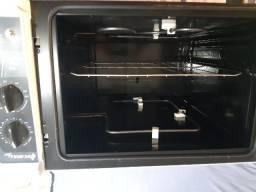 forno elétrico fischer hot line - sem uso