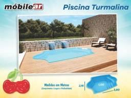 Piscina de Fibra 5.000 litros - 3,80 X 2,10 X 1,00