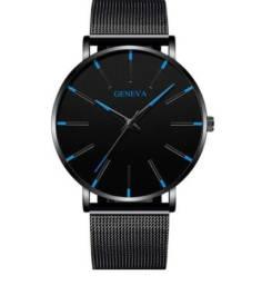 Promoção Relógio Masculino Minimalista / (Duas cores disponíveis)