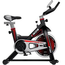Bicicleta Ergométrica Spinning Kikos F5 Preta usada 2.300,00