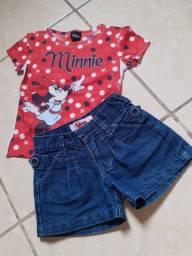Potinho de roupas menina Tam 3