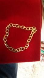 Vendo pulseira de ouro 4,5 gramas