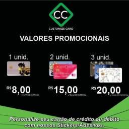Adesivo para cartão de crédito / débito