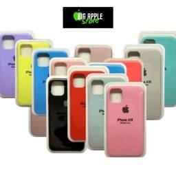 Capinha Iphone de silicone