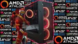 PC Gamer Atlhon 3000G + GT 1030 2GB | Novo c/ Garantia!