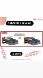 Cabeceira Sevilha / nova - PROMOÇÃO