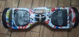 """Hoverboard skate elétrico 6,5""""Bluetooth LED"""