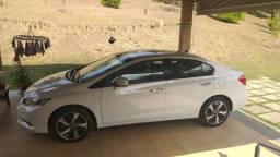 Honda Civic EXR 2.0 TOP de linha. Completo + Mídia +Teto+ IPVA Total Pago.