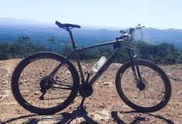 Bicicleta aro 29 freio hidraulico