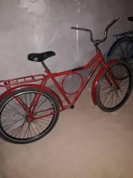 bicicleta vermelha  monark