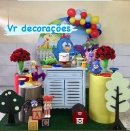 Locação Kit Mini Table decoração Galinha Pintadinha