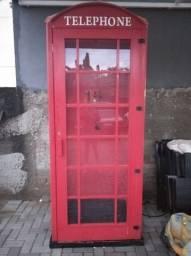 Réplica cabine telefônica