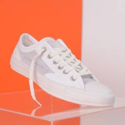 Tênis Converse Chuck Taylor All Star Breathe Ox Branco