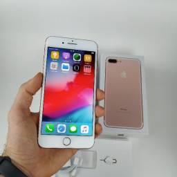 iPhone 7 Plus 128GB Rose - Excelente! Com Garantia