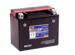 Bateria Moura Moto 10ah 12v Ma10-e ( Ref. Yuasa: Ytx12-bs ) - nova e com garantia