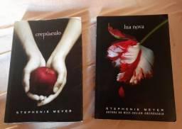 Livro crepúsculo e lua nova