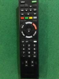 Controle original smat tv sony bravia, com tecla 3d e netflix.