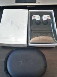 Kz Zsr 6 drives Fone de Ouvido HiFi Híbrido