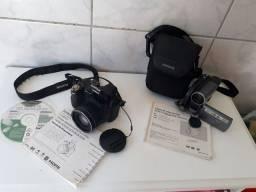 Câmera digital Fuji Film e Filmadora Samsung