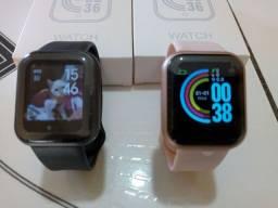 Smartwatch D20 Y68 Atualizado Coloca Foto