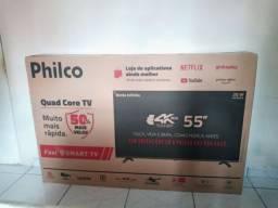 Smart tv 55 polegada nova comprada ah 3 meses.