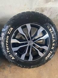 Rodas Amarok 2020 Aro 18  com pneus 265/60/18