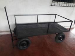 Carro de Mão 4 rodas