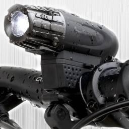 Farol de Bicicleta Raypal RPL-2256 200 Lumens Destacável Usb Recarregável