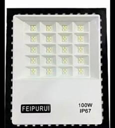 Refletor de led super led a prova de água 100w ip67