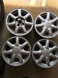 Jogo de rodas aro 14 VW