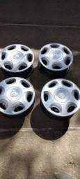 Roda de ferro com calota Aro 14