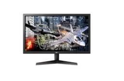 "Monitor LED 24"" Gamer LG 24GL600F 144hz Full HD Freesync"