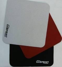 Kit 10 Unidades Mousepad Tapete Liso Apoio Pé De Mouse Computador