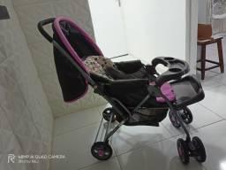 Kit carrinho + nenê conforto