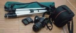 Câmera profissional D3100 Nikon
