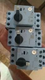 Vendo 4 disjuntores motor. <br>Weg mpw 40.<br>4 a 6.3A