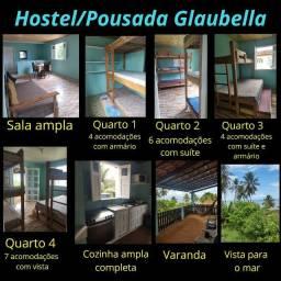 Cobertura para aluguel de quartos no sistema hostel/pousada