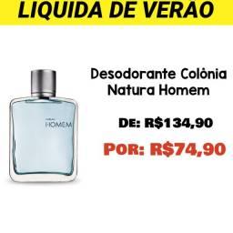 Desodorante Colônia Natura Homem (Opção Olx Pay)