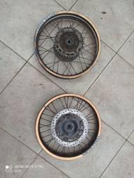 Rodas de moto NX 350 Sahara
