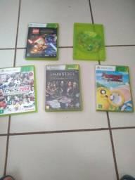 5 jogos de xbox 360, 40/jogo