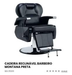 Cadeira Reclinável para Barbearia