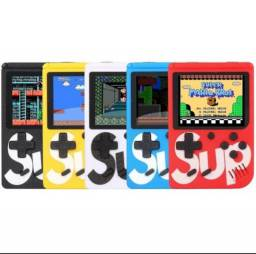 Mini game Sup 400 jogos retro 8 bits