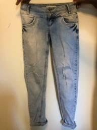Calça jeans cintura baixa