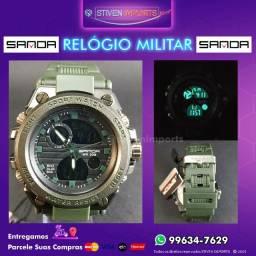 (Promoção) Relógio Militar Masculino [Entrega Grátis]