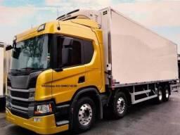 Scania P320 8x2 Aut Bau Camará Fria Ibiporã + Thermo king T1200 2021