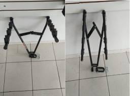 Transbike Bicicleta Bike de Engate Formato V 3 Bicicleas com Presilha de Borracha