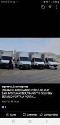 Estamos agregando Vuc Iveco ou MASTER  bau serviço porta porta