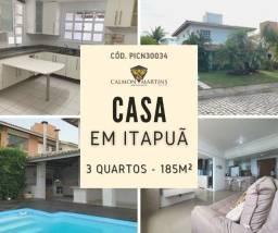 Casa em Condomínio 3 Quartos, Cond. Quatro Rodas - Itapuã 500m²